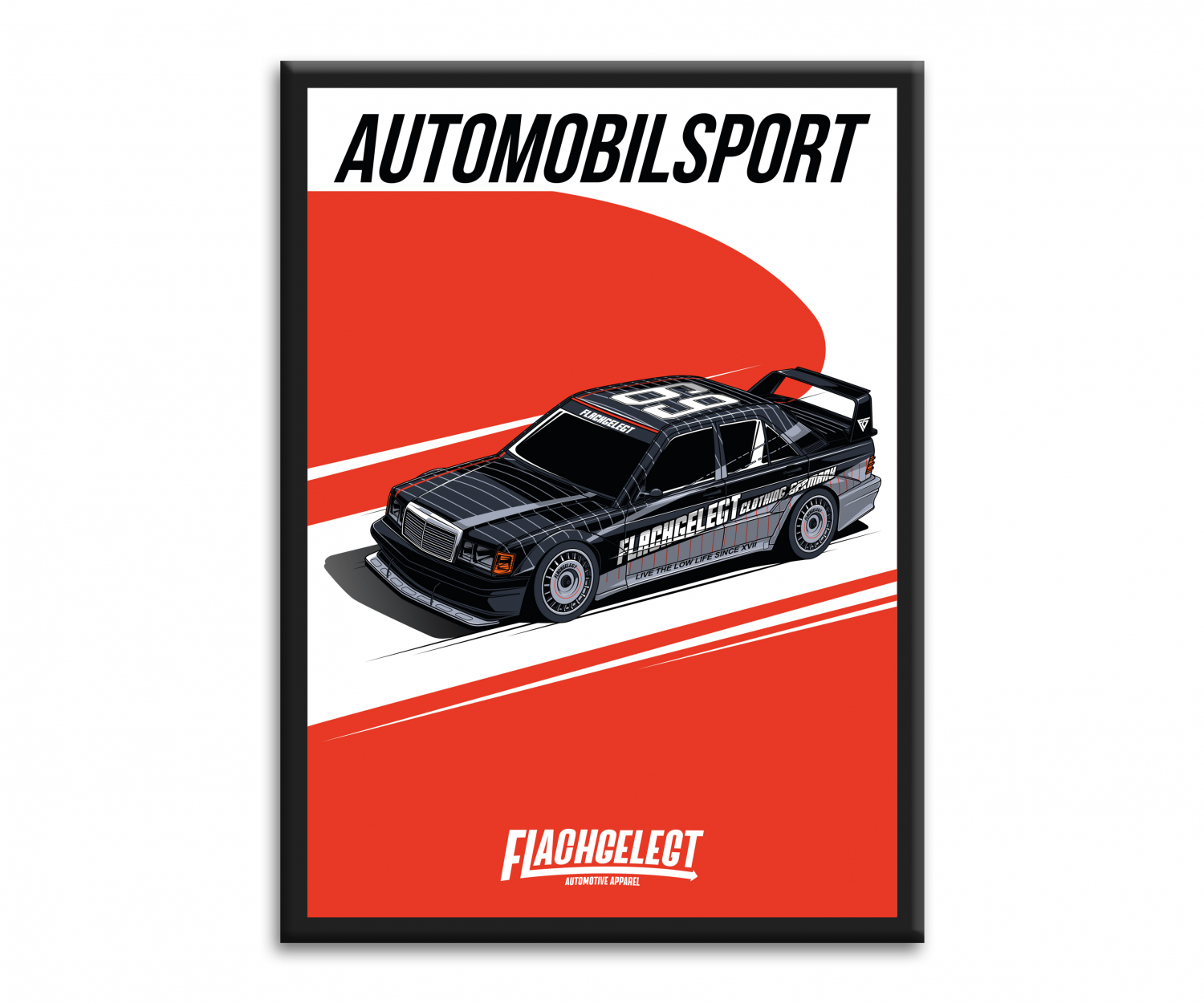 AUTOMOBILSPORT - LIMITED ARTWORK A2